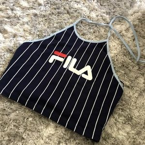 Fila Luann Halter Crop Top